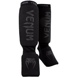 Protege tibias et pieds mousse Venum Kontact noir/noir mat taille unique