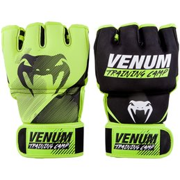 Gants MMA Venum Training camp 2.0 Jaune fluo