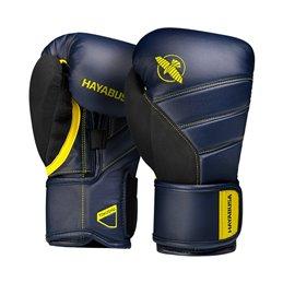Gants de boxe Hayabusa T3 marine/jaune