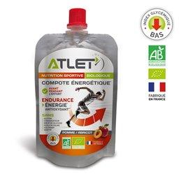 Barre énergétique biologique ATLET fruits rouges