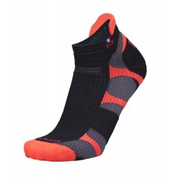 La Chaussette de France Running modele Mercury noir/orange