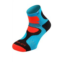 La Chaussette de France Running modele Nepal bleu orange