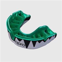 Protege dents Shock doctor Opro Platinium Noir dentition