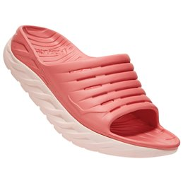 Sandales claquettes Hoka recovery Ora rose