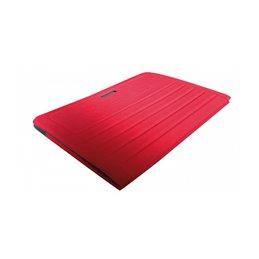Tapis pliable rouge antibacterien