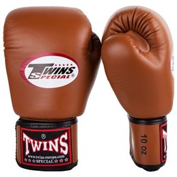 Gants de boxe Twins BG Marron