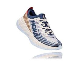 Chaussure Hoka One One Carbon X SPE blanc bleu