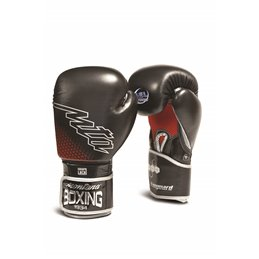 Gants boxe Vanguard Montana noir rouge