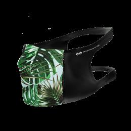 Masque de protection Sport Mc David lavable polyester noir tropical