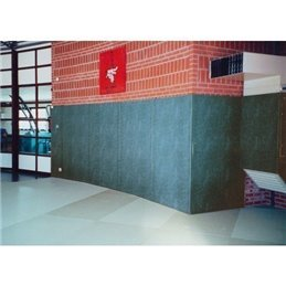 Protections murales Noris dos nu simili cuir classification feu co