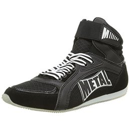 Chaussure de boxe Viper semi montantes Metal boxe Noir