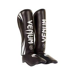 Protege tibias pieds Challenger Venum noirs/blancs