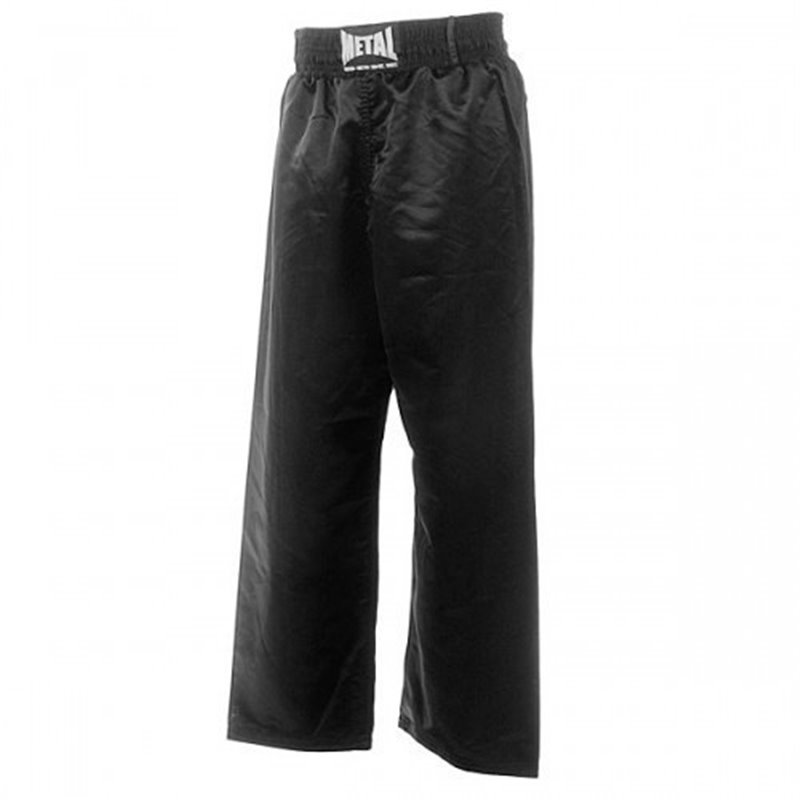 Pantalon full contact noir junior Metal Boxe