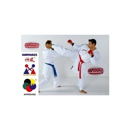 Kimono combat  blanc Kamikaze Competition WKF