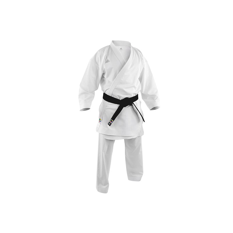 Kimono Adidas kumite combat Adizero KO blanc