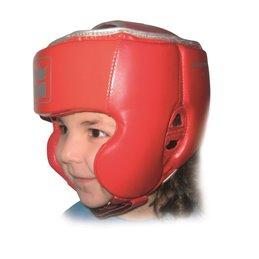Casque de boxe Enfant Montana Kidguard taille unique Rouge