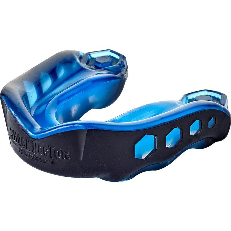 Protege dents Shock doctor Gel max Noir Bleu