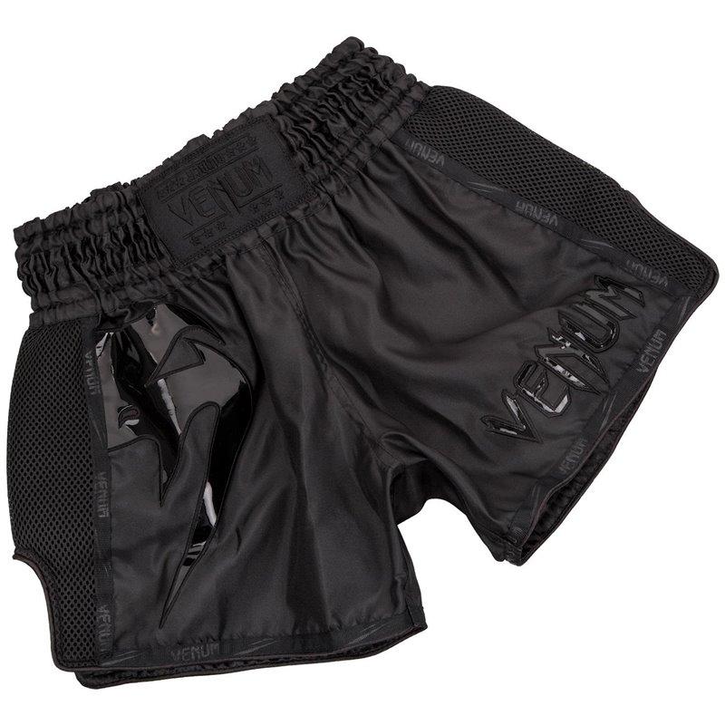 Short de Muay Thai Venum Giant noir/noir