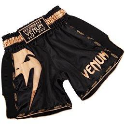 Short de Muay Thai Venum Giant noir/or