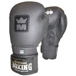Gants boxe Montana Energy stealth noir