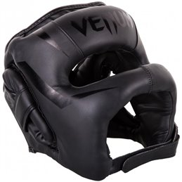 Casque Venum a barre Elite noir taille unique