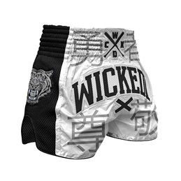 Short Muay-thai WickedOne Japan blanc
