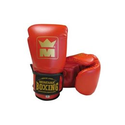 Gants de boxe Montana MMB 100 Rouge