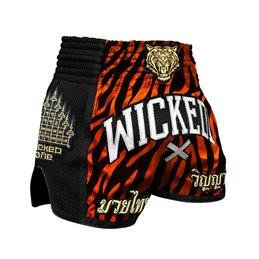 Short Muay-thai et Kick WickedOne Tiger stripes
