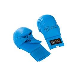 Mitaines karate Tokaido WKF avec pouce Bleu