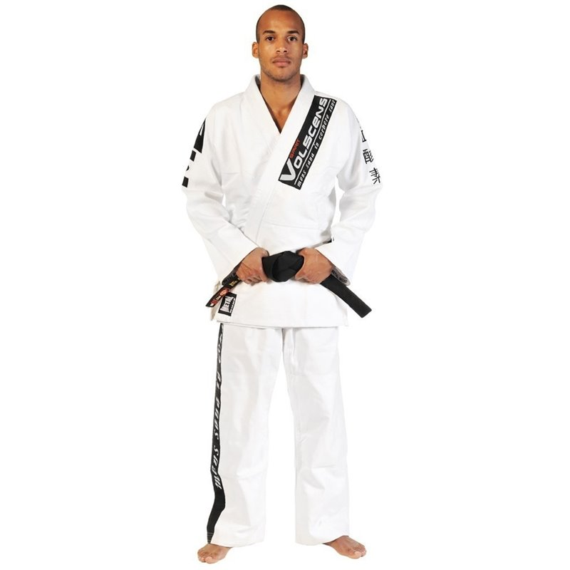 Kimono JuJitsu Bresilien Metal Brawl Blanc
