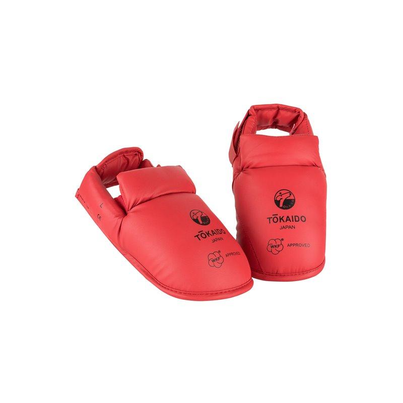 Protege pieds Tokaido WKF rouge
