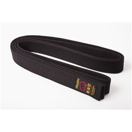 Ceinture de karate Tokaido made in japan noire