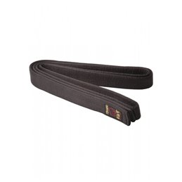 Ceinture de karate Tokaido en satin made in japan noire