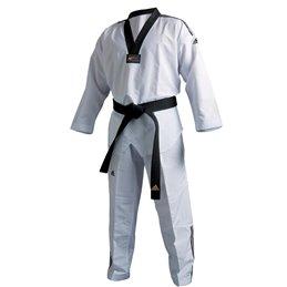 Dobok taekwondo blanc Adidas Fighter 3